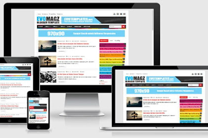 Template Blogger Premium untuk Blog Tutorial