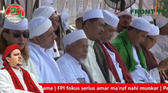 HRS di Milad FPI: Kita tidak butuh presiden yang pembohong
