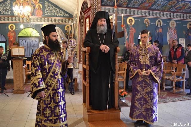 ИПЦ Греции: Вечерня Крестопоклонной Недели в Магуласе. ФОТО