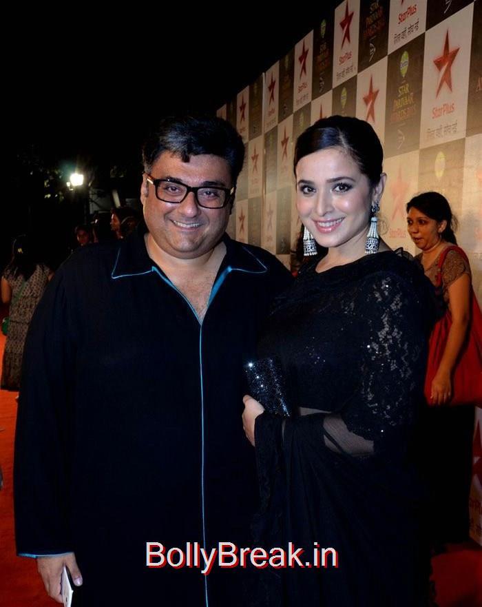 Farhad Samar, Simone Singh, Asha Negi Simone Singh Hot HD Images At Star Parivaar Awards 2015 Photo Gallery