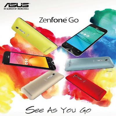 Android Keren harga 1 Jutaan ZenFone Go ZB452KG