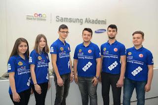 Samsung robot takımı İTOBOT, dünyanın en büyük robot yarışması FIRST Robotics'da