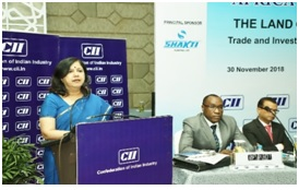CII AFRICA SEMINAR SERIES 2018 The Land of Unexplored Potential Trade and Investment Opportunities for Indian Companies