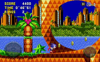 Clássico jogo Sonic CD do Sega CD chega diretamente para o sistema Android 3