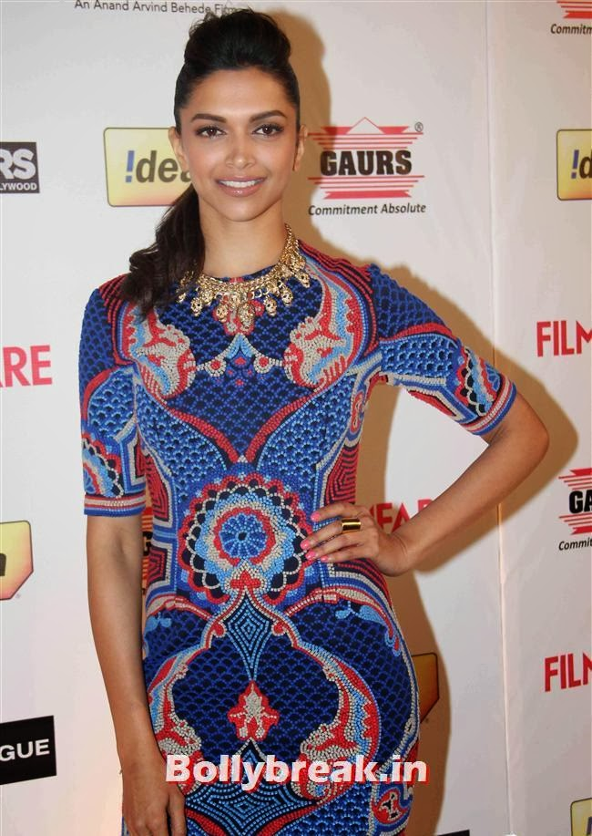 Deepika Padukone, Bollywood A-List Actresses at 59th Filmfare Pre Awards Party