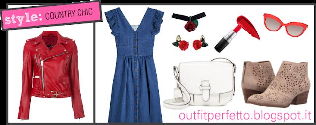 Come abbinare una BIKER JACKET ROSSA (outfit Primavera/Estate)