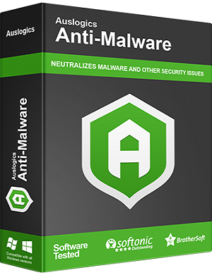 Auslogics Anti-Malware 1.9.1 poster box cover