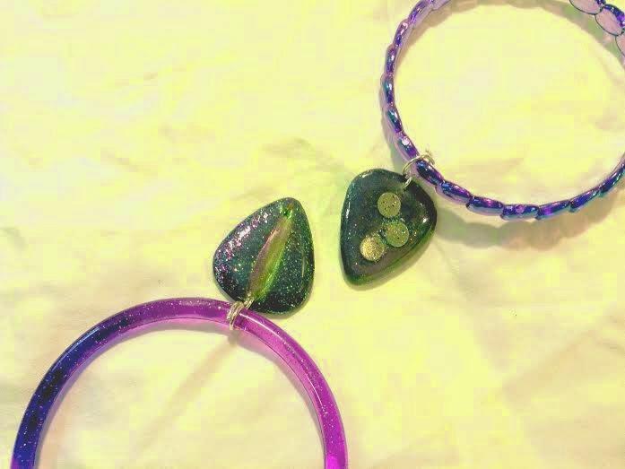 Bracelets close up