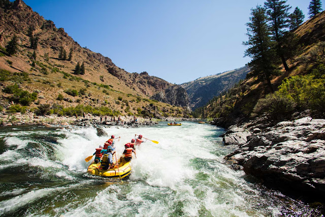 Rafting río Middle Fork