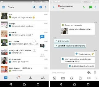 Download BBM Mod White Style Iphone v3.1.0.13 apk