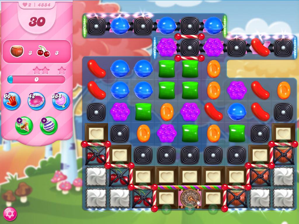 Candy Crush Saga level 4884