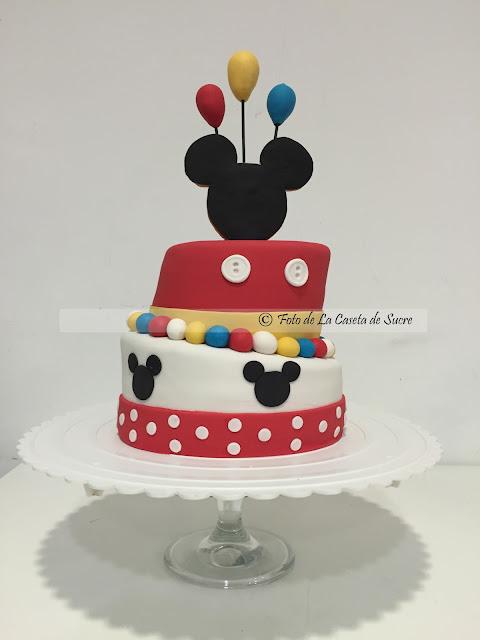 tarta Mickey Mouse cake 1