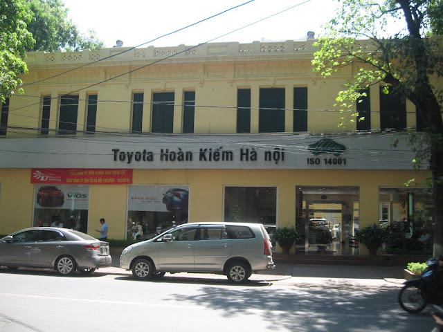 đại lý ô tô Toyota Hoàn Kiếm