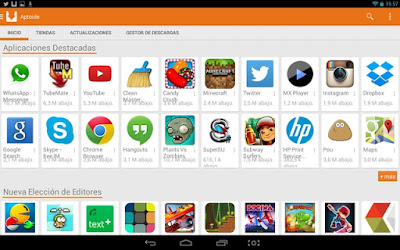 Aptoide, alternativa a Google PlayStore