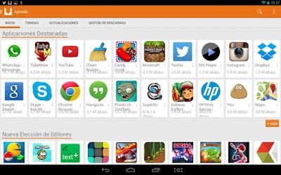 Aptoide, alternativa a Google PlayStore