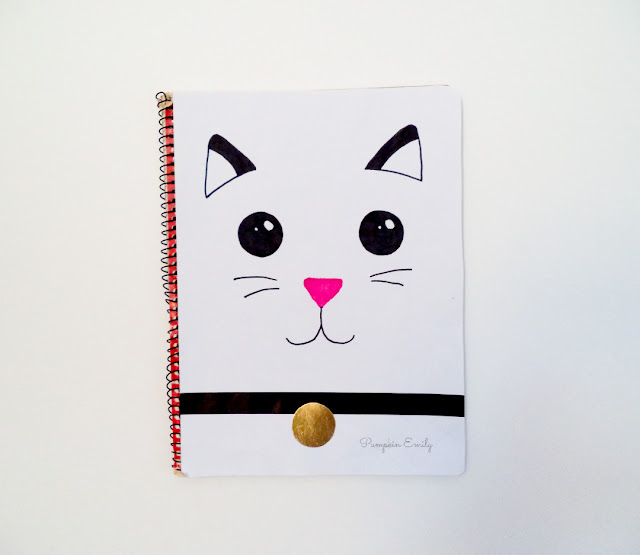 DIY Animal Notebook Cover