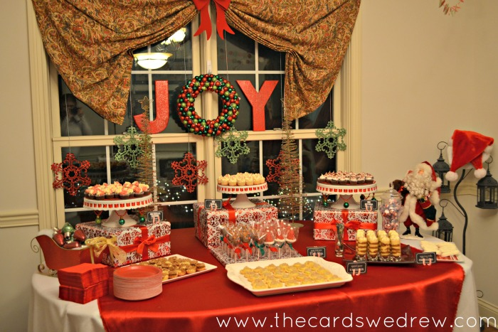 Red And Green Christmas Party