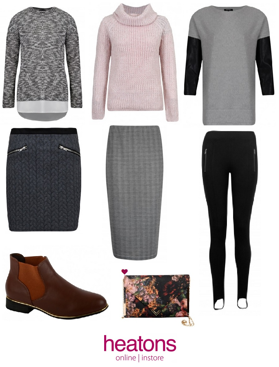 The Style Guide Blog, Heatons Stores, Irish Store, Local Focus, AW style, Warm jumpers, bargain knits, style blog