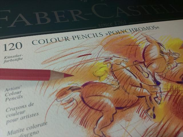Pastelky Polychromos Faber Castell