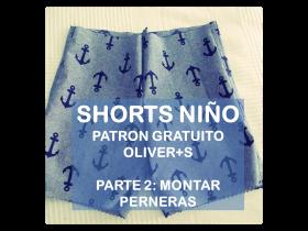 tutorial cose unos shorts infantiles patron gratis La vie en DIY