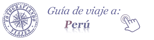 guia viaje perú