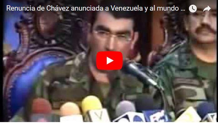 16 años de la masacre de Puente Llaguno contra el pueblo
