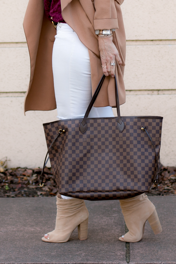 louis vuitton damier ebene neverfull GM parlor girl