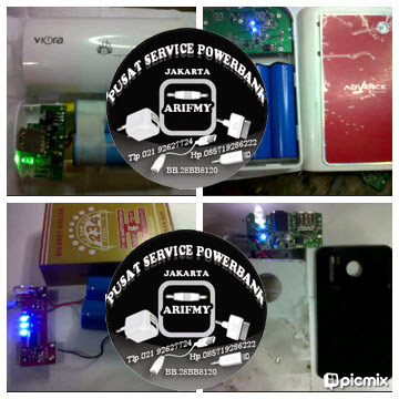 Service Powerbank / Portable charger all merk