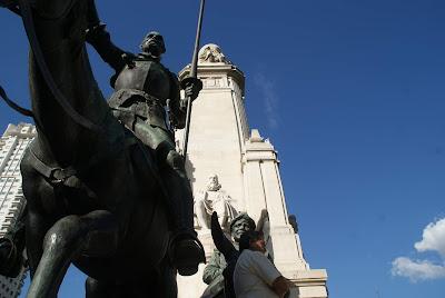 Monumento plaza españa madrid, francisco tapia