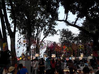Parade hasil rajutan dari kounitas Rajut Kejut