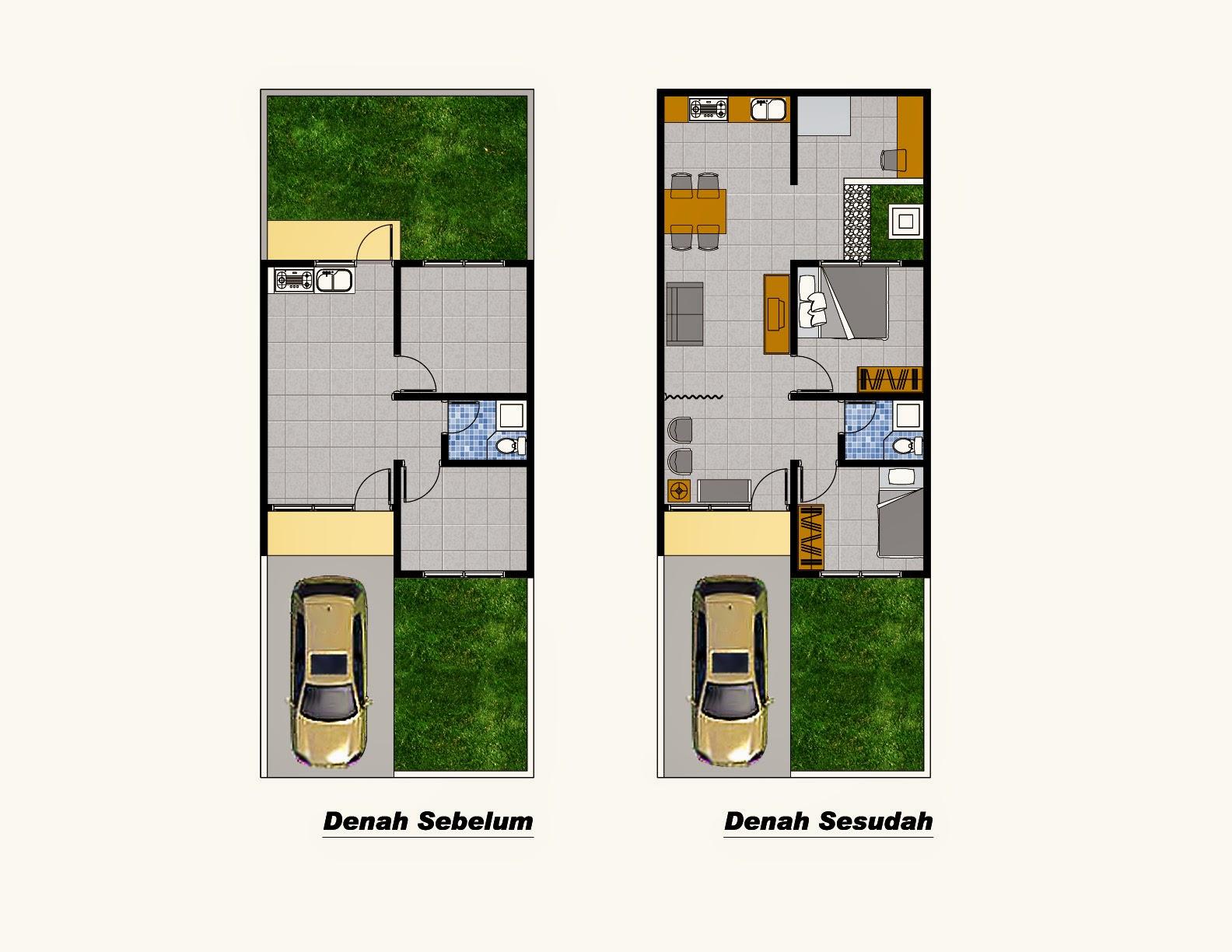 Contoh Desain Rumah Minimalis Type 36 72 Desain Rumah