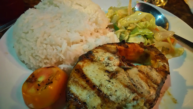 Grilled Fish at Pizza Volante