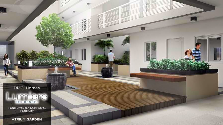 Lumiere Residences_Garden_Atrium