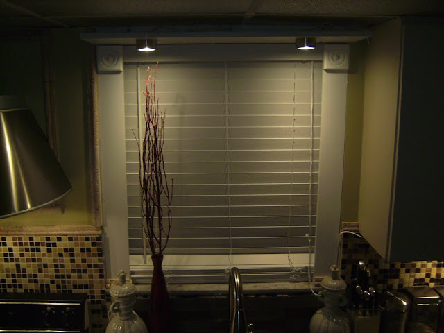 How to Remodel and Decorate a Small Kitchen, Adding back splash, cabinet lighting.
