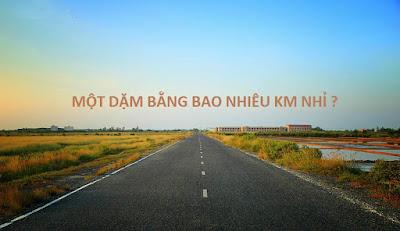 1 DAM BANG BAO NHIEU KM