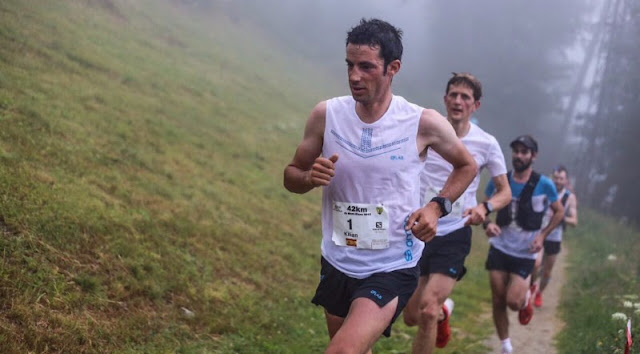 Kilian Jornet vence la Marathon du Mont-Blanc