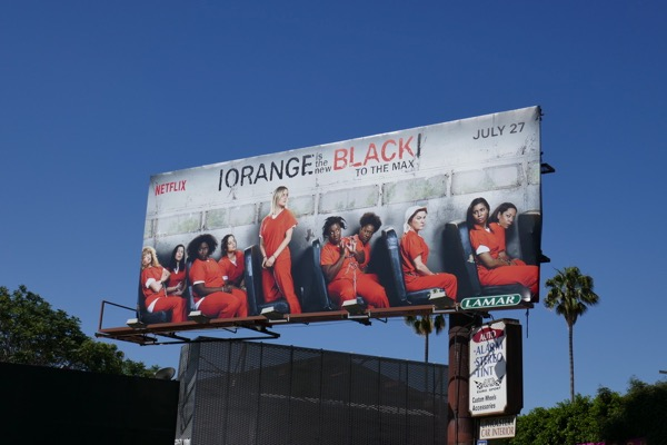 Orange is New Black season 6 billboard