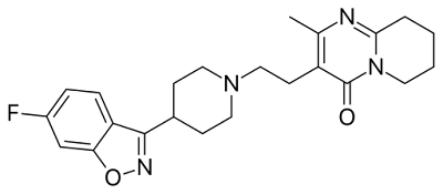 Risperidone chemical structure
