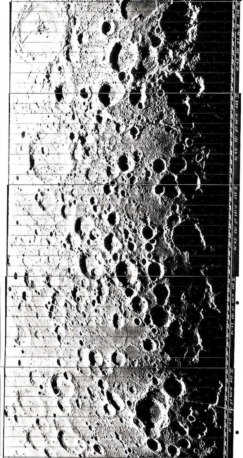Lunar surface photograph