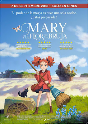 Mary y la flor de la bruja de Himorasa Yonebayashi