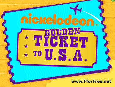 Golden Ticket To USA Contest Win Trip To Nickelodeon Universe In