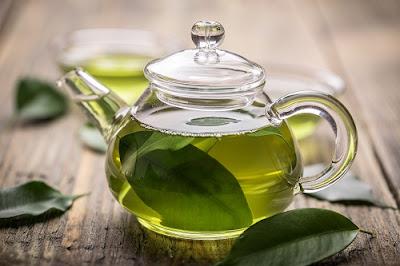 Nước trà xanh giúp đẩy lùi chứng dị ứng