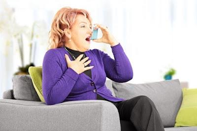 cara mengatasi asma mendadak