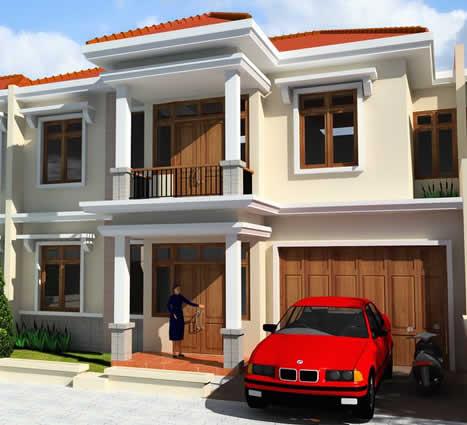 rumah minimalis: desain rumah tingkat 2 minimalis modern