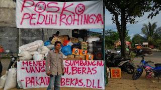 Warga Samahani Aceh Besar Galang Bantuan Untuk Rohingya