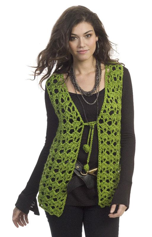 Crochet Vests Patterns Browse Patterns