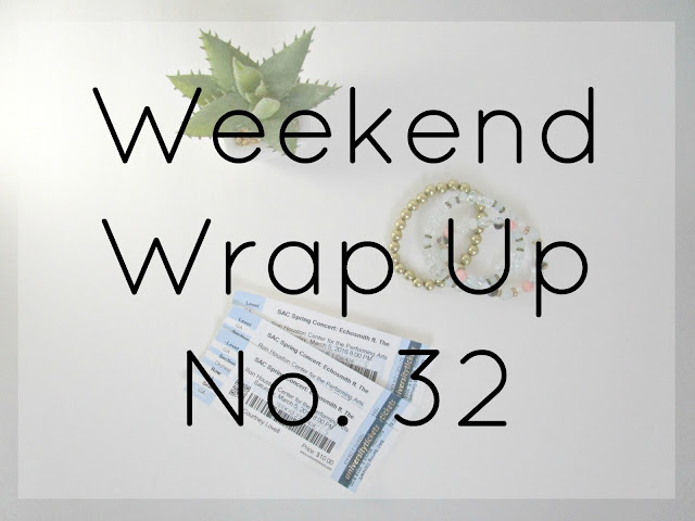 Weekend Wrap Up No. 32 from Courtney's Little Things