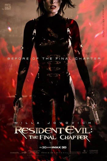 Resident Evil The Final Chapter 2017 Dual Audio Hindi 480p HDTS 280mb