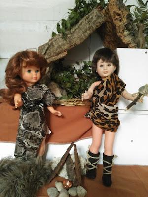Nancy y Lucas disfrazados