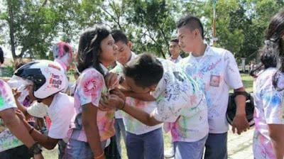 Coret-Coret Binal Pesta Kelulusan Anak Sekolah